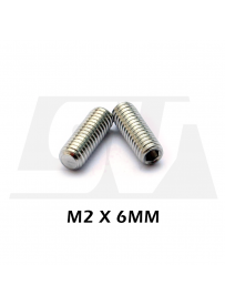 M2 x 6mm - 25 pack